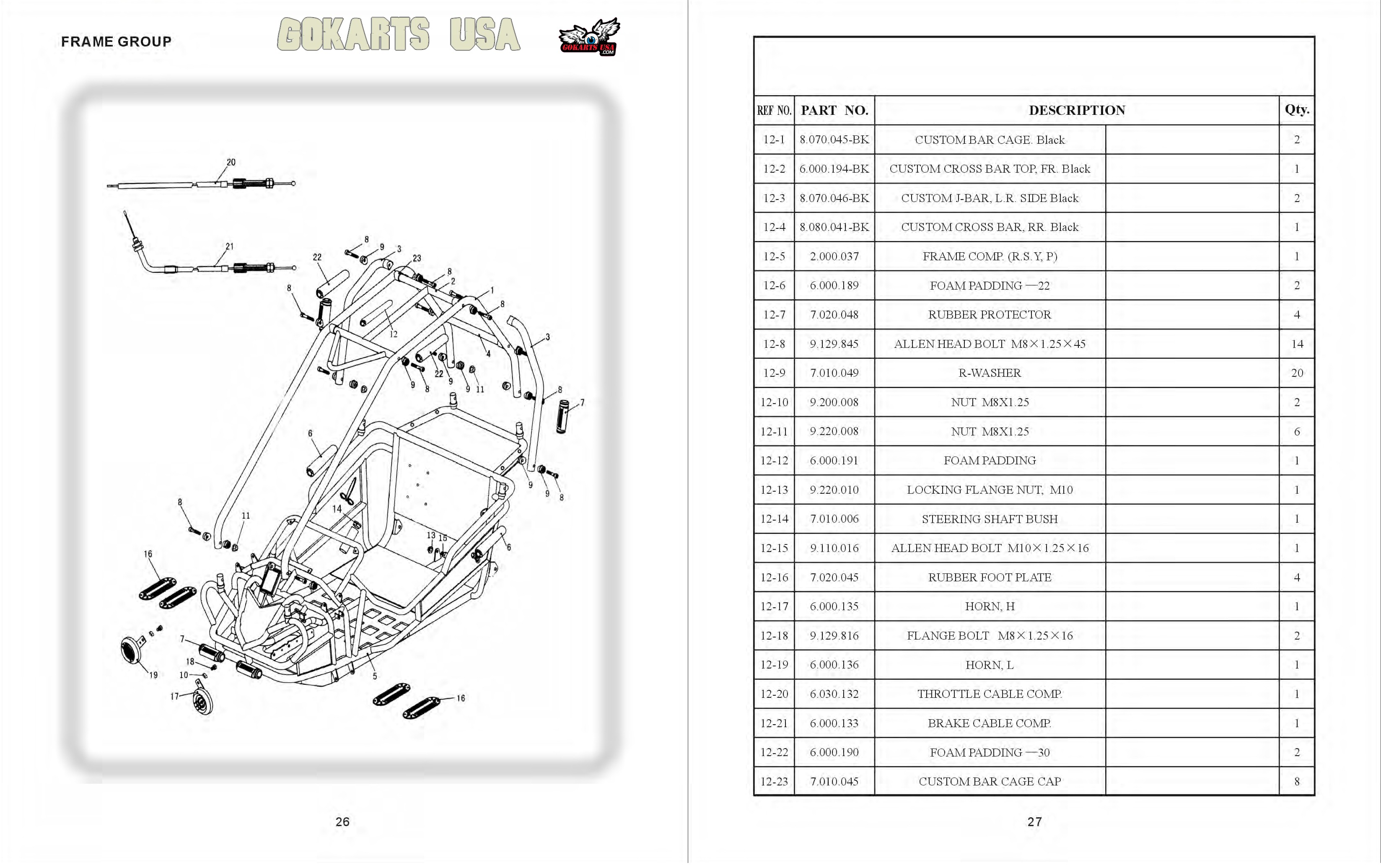 Hammerhead Go Kart Parts Diagram Schematic Wiring On Engine Besides 1212 Gy150 301 0066 Gy6 150 Oil