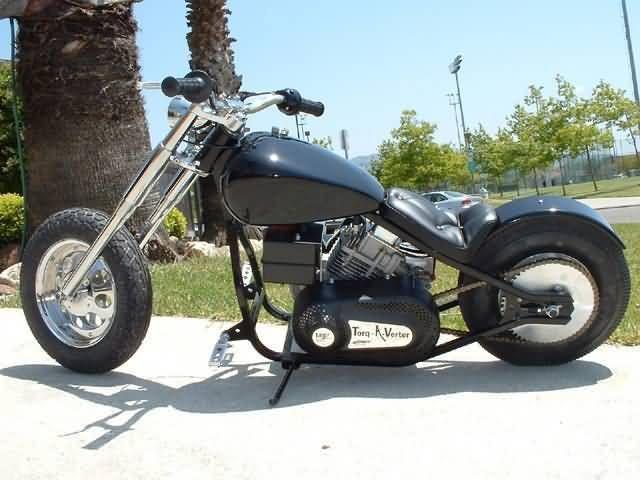 2012 Little Badass Minichopper Motorcycle