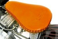 Genuine Saddle Leather Seat Cover