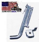 Deluxe Minibike Kickstand and Bracket set