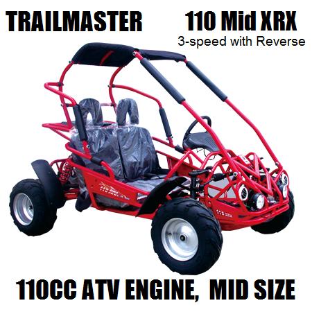 110 Mid XRX 2 diagrams run master 110cc go kart motor wiring diagrams for 2 125Cc Chinese ATV Wiring Diagram at n-0.co