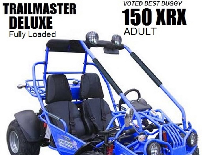TrailMaster 150 Deluxe Fully Loaded $2,349