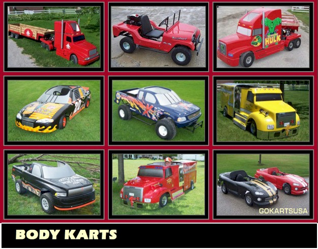 Go Kart Bodies Camaro http://gokartsusa.com/Gokarts-With-Car-and-Truck-Body.aspx