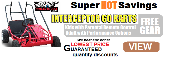 INTERCEPTOR 196 GOKART