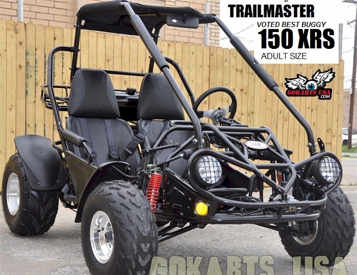 TrailMaster 150 Adult off-road Go Kart $1,999