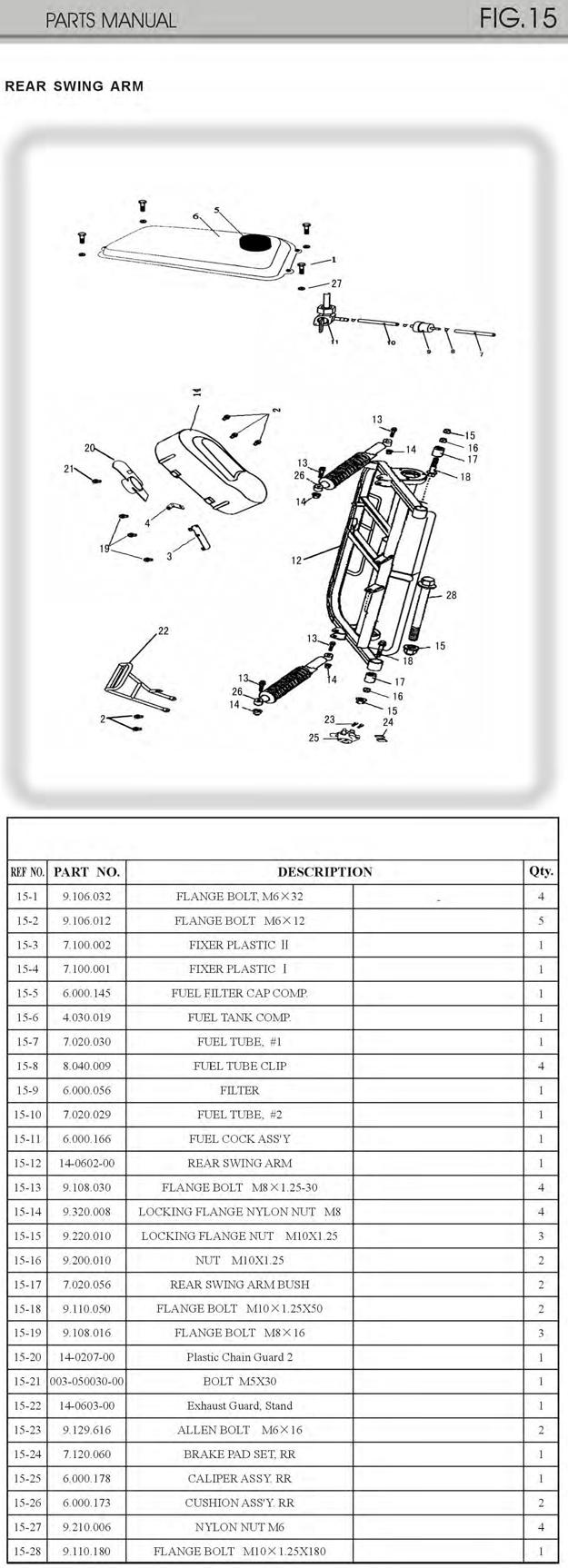 Trailmaster Gokart Parts  Rear Swing Arm For Mini Xrx Xrs Gokart