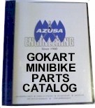 Gokart & Minibike Parts Catalog
