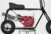 the Hornet Minibike can be ordered with a Stock Engine, or add the optional Mikuni Stage 1 Kit with the Stinger Exhaust