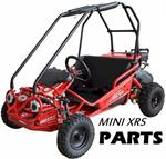 Cross Bar Lower, Roll Cage, Black, TrailMaster Mini XRS Gokart