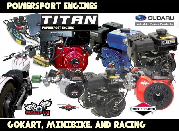 Gokart Engines on Lifan Honda Clone Engines
