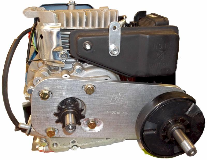 Bicycle Gas Engine Jackshaft Plate | Lifan 2.5hp GX160 GX200