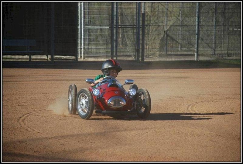 Continental Bicycle Tires >> 1952 Ferrari F2 Go Kart
