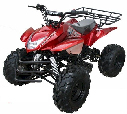 Roketa ATV 69L 125, Fully Auto with Reverse, 8 inch Tires