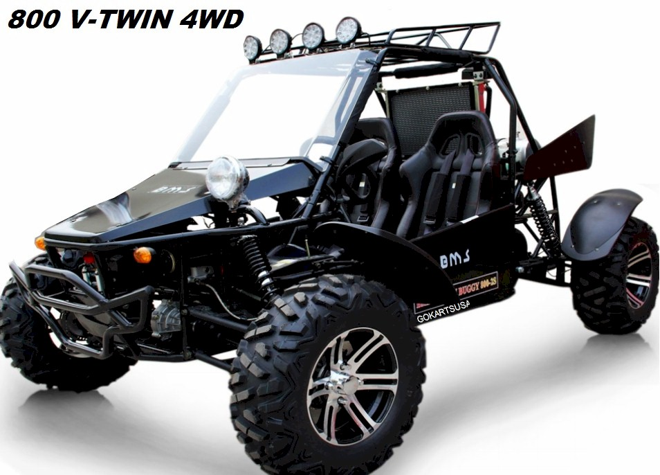 Bms 800 V Twin Dune Buggy 4wd
