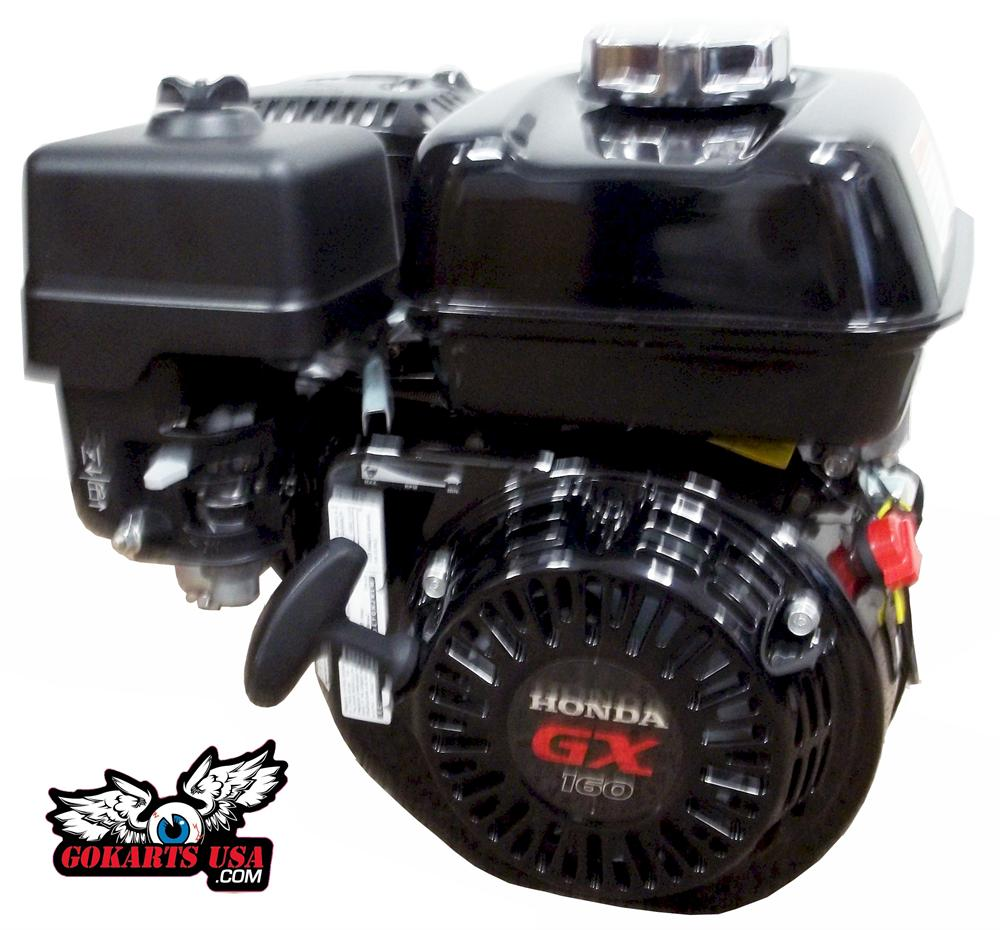 Honda Gx160 5 5hp Ohv Powersport Engine Black