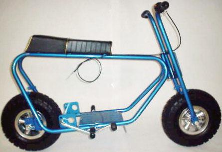 restored bonanza minibike