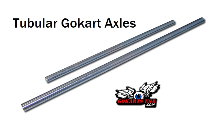 Go  Kart Axles, Tubular, Complete Selection