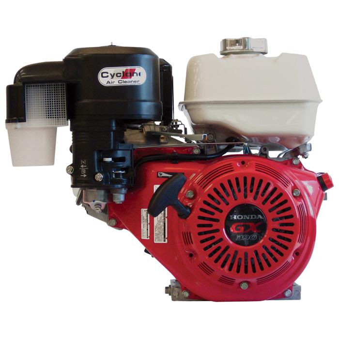 Honda GX390 13p Engine, with Cyclone Air Filter