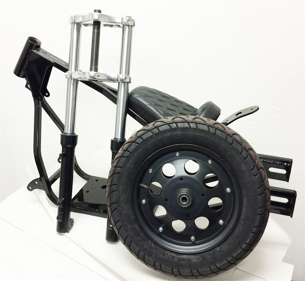 Mini Bike Frame : Mini chopper frame