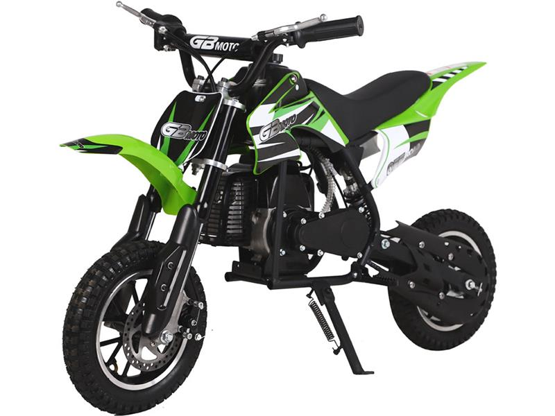 49cc GB Dirt Bike Green