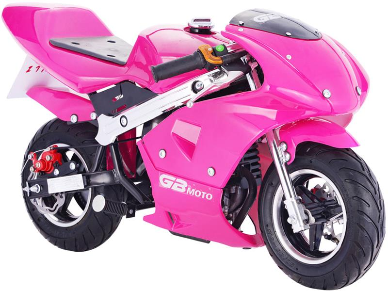 GBMoto Gas Pocket Bike 40cc Pink
