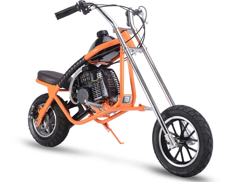 Gas Mini Chopper 49cc Orange