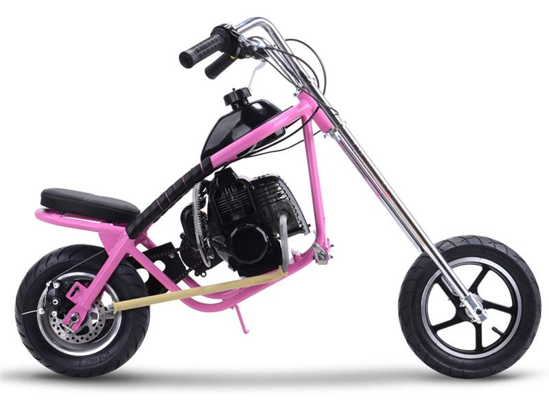 Gas Mini Chopper 49cc Pink