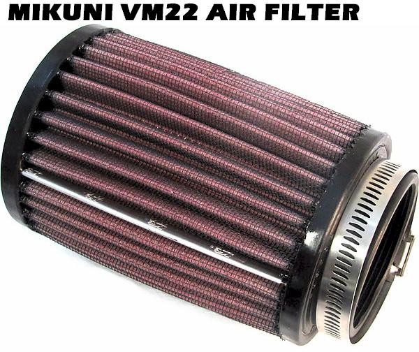 Air Filter, High Flow for Mikuni VM22mm Honda GX120/160/200