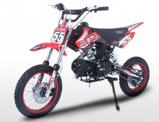 BMS Pro 125 4 Speed Manual Dirt Bike