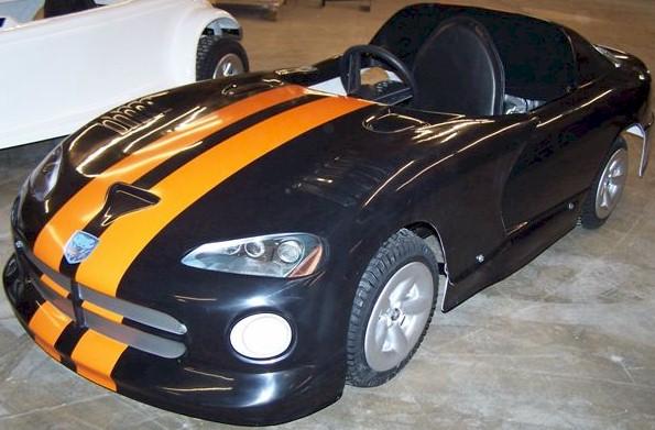 Sports Car Convertible Go Kart