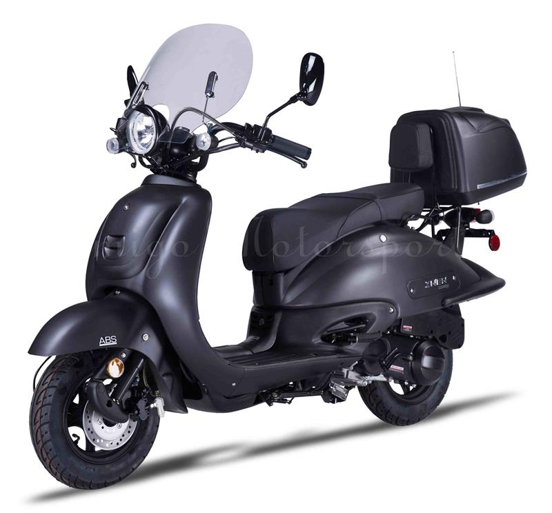 Blackout 150cc Moped Scooter