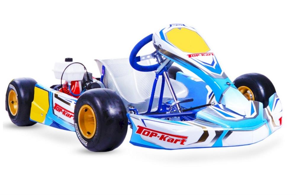 Topkart Kid Kart Chassis Complete With C50