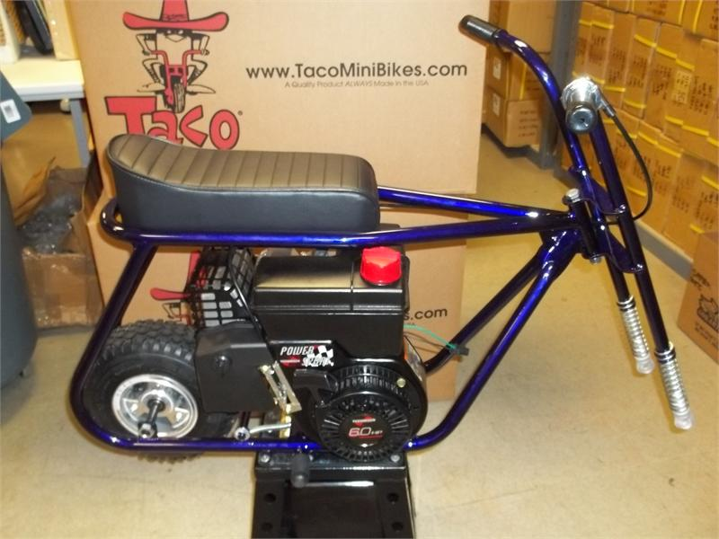 mini bike kit fits taco 22 frame. Black Bedroom Furniture Sets. Home Design Ideas