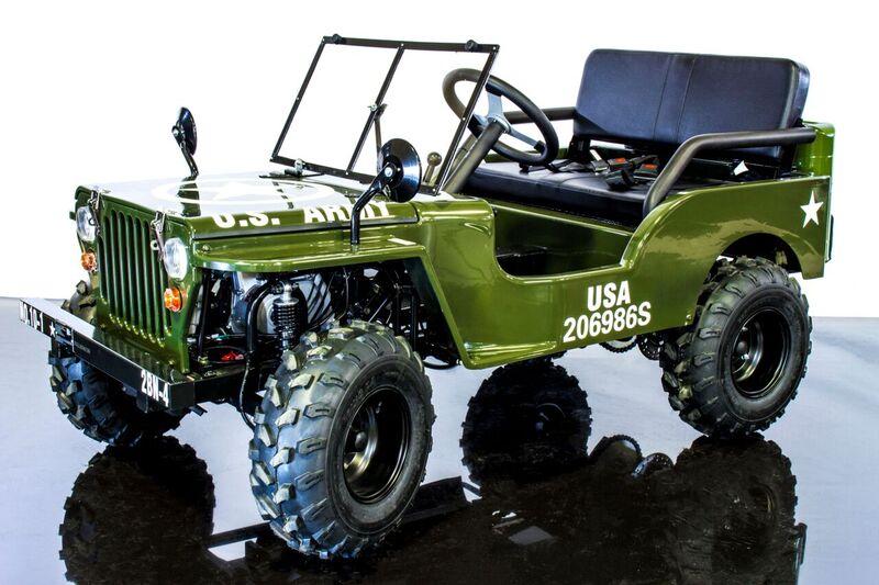 Mini Monster Truck For Sale >> Mini Jeep Go Kart | 125cc Gas Engine | 3 Speed | Reverse - gokartsusa.com