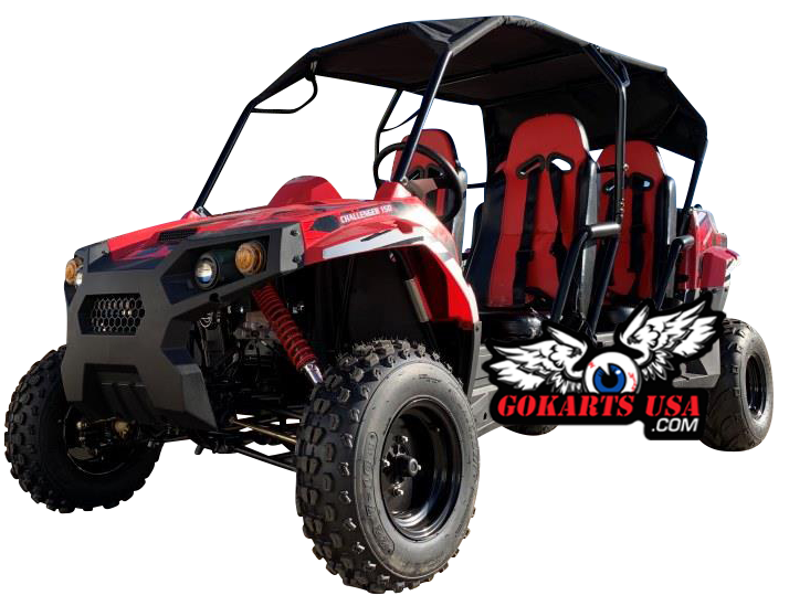TrailMaster Challenger 200S 4-Seater UTV Side-by-Side