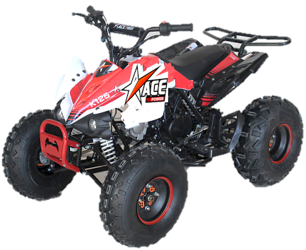 ACE 125 ATV 3-Speed
