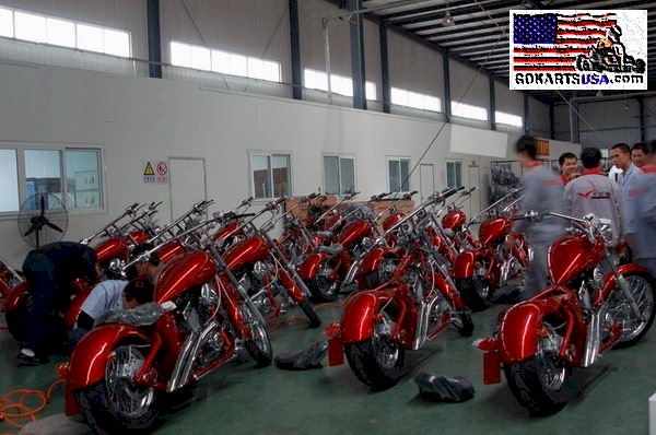 Continental Bike Tires >> Lifan 250 V-Twin Mini Chopper
