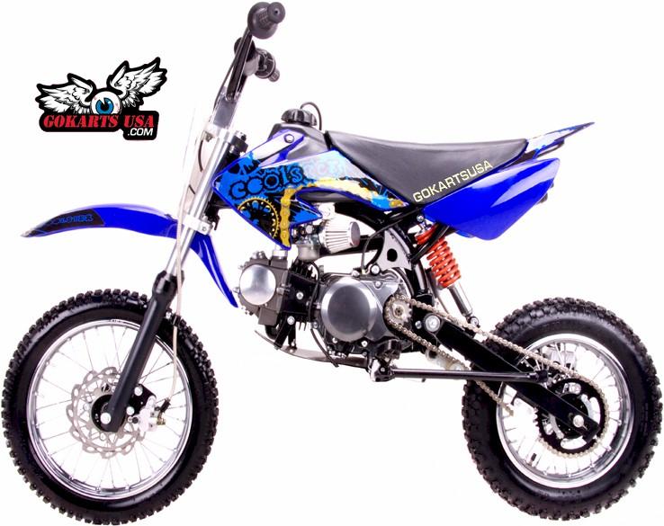 Coolster 125 Pit Bike Semi Automatic Gokartsusa Com