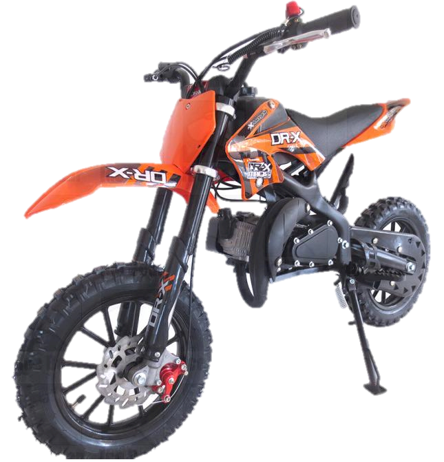 IceBear Holeshot 50cc Dirt Bike, Fully Automatic, 2-Stroke Pocket Bike