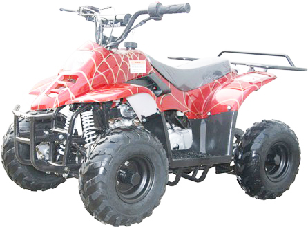 Coolster  Mini 110 ATV, red, left side