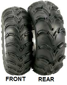 ITP MUD LITE REAR TIRE, Buggy, ATV, UTV 22X11-10