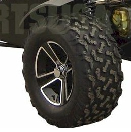 Rear Wheel and Tire (27x11x14) BMS Sand Sniper Dune Buggy 1000