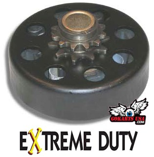 Centrifugal Clutch, Extreme-Duty for Gokart Minibike #40/41, 3/4, 12T
