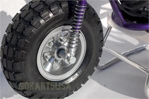 "Mini Bike Front Wheel and Tire assembly, 5"" Wheel"