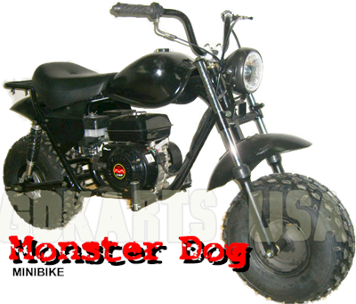 Monster Dog II Minibike