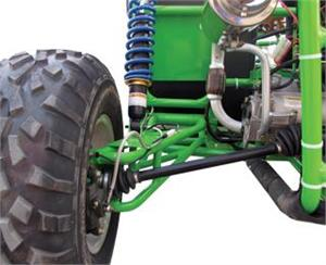 Independent Suspension with Heavy Duty BMS A-Arms
