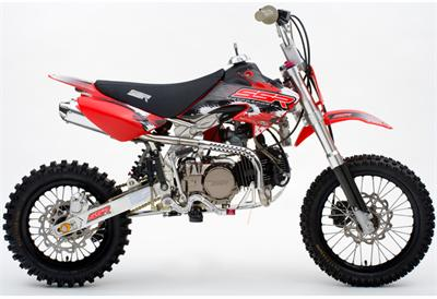 SSR 125 X3+14 4-Speed Manual Clutch Dirt Bike