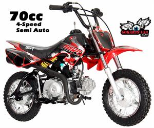 SSR 70 Pit Bike (Mini Dirt Bike)