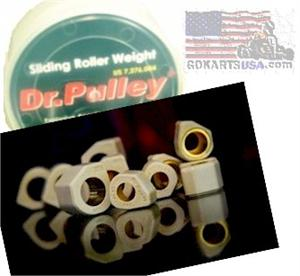 Dr. Pulley Slider Weights, CN250 Buggy
