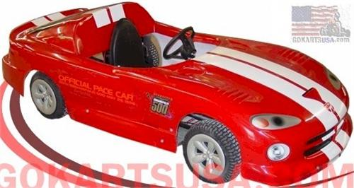 Sports Car Convertible Gokart